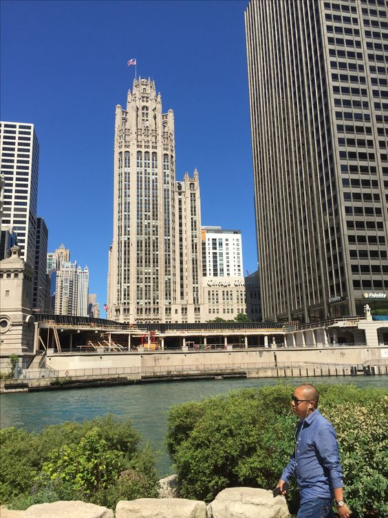 The Tribune Tower, Home of the Tribune newspaper