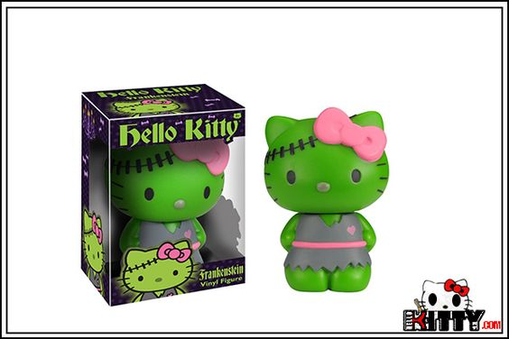 funko pop hello kitty Frankenstein