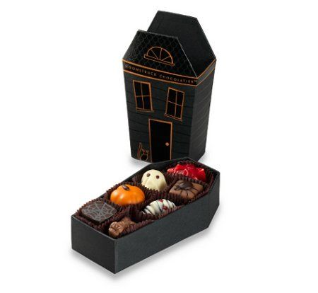 Haunted House Collection   Moonstruck Chocolate Company