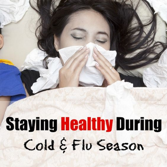 Staying Healthy During Cold & Flu Season is almost easy when you take these few steps.