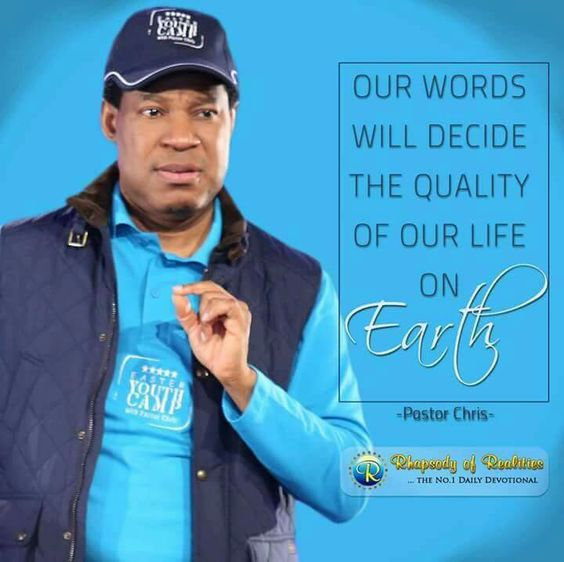 40aaf801f1c9a4deb7d84d136d1c7088 - Pastor Chris Quotes That would Inspire Your Day