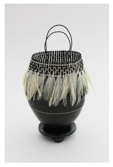 'Feathered Kete' by Robyn Lloyd #plocomiPottery