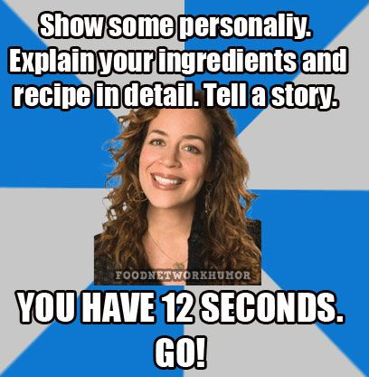 susie fogelson meme next food network star