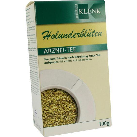 HOLUNDERBLÜTEN Tee:   Packungsinhalt: 100 g Tee PZN: 03633065 Hersteller: Heinrich Klenk GmbH & Co. KG Preis: 4,79 EUR inkl. 19 % MwSt.…