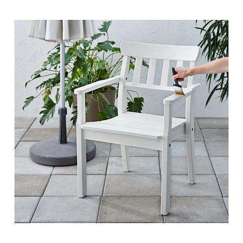VÅRDA Bejca do drewna, zew. - biały - IKEA