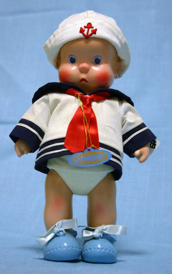 Collectable HEbeeSHEbee Sailor Boy Doll 1980s on Etsy, $30.00