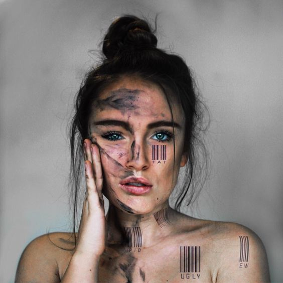 Incredible Manipulated Self-Portraits by Annegien Schilling #inspiration #photography
