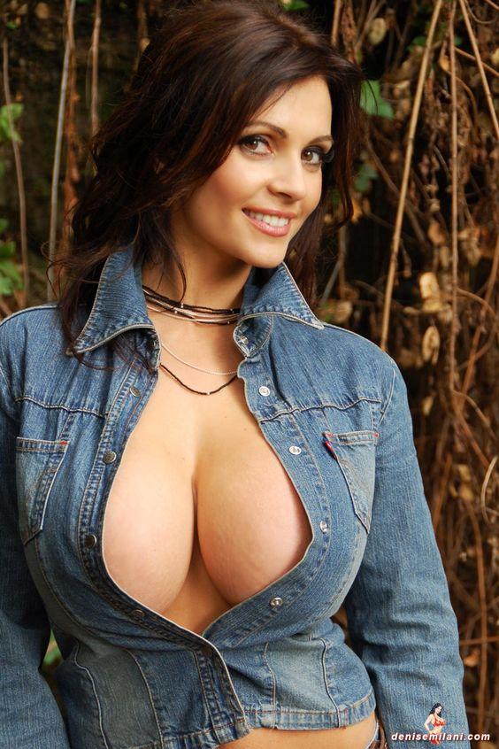 En fotos: Conoce la gran personalidad de la sensual modelo Denise Milani - Notihoy.com