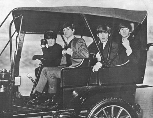 John Lennon, Paul McCartney, George Harrison, and Richard Starkey