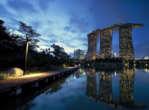 Marina Bay Sands, Singapore - staying here next year!!!