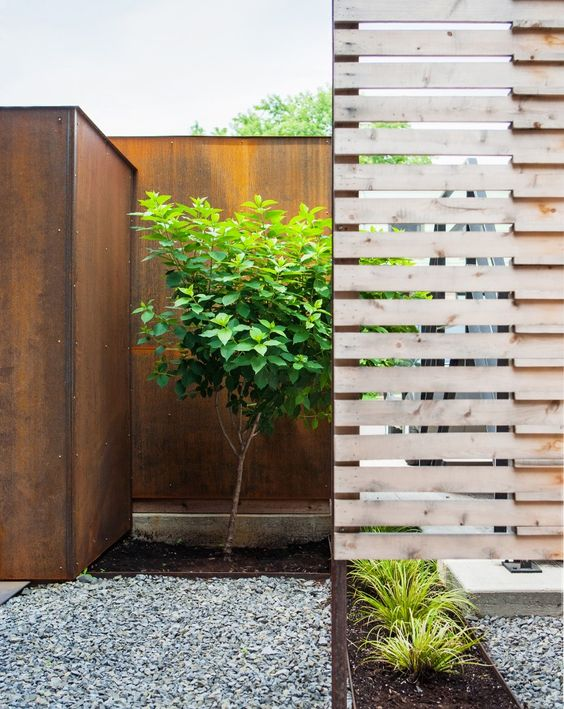 Gallery of the hintonburg six colizza bruni architecture for Small privacy fence