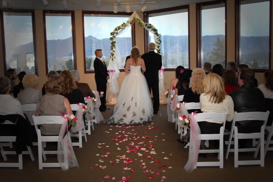 Small indoor wedding