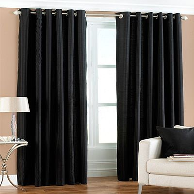 Curtains Ideas charcoal and cream curtains : cream walls with charcoal curtains - Google Search | Bedroom ...