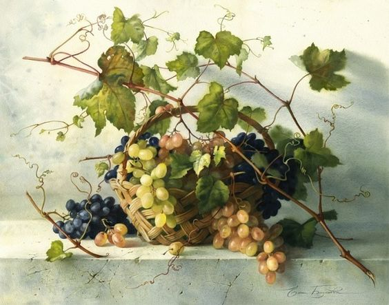 Elena Bazanova I Grapes