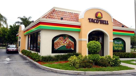 1990's Taco Bell