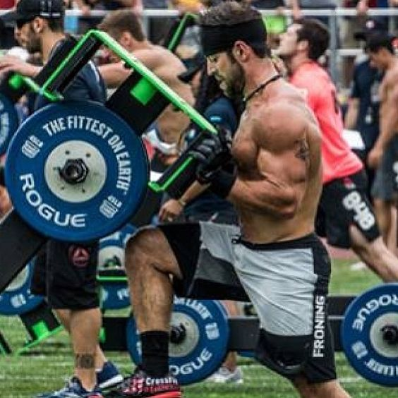 Rich Froning #crossfitgirl #motivation #physique #weightloss #squats #workout…