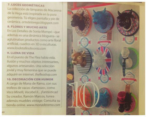 Empezamos bien el verano y estamos muy contentos, porque Mona de Rama sale en el número de Agosto de la revista Nuevo Estilo!!!!!!! www.monaderama.com