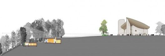 Renzo Piano - Addition to Ronchamp Chapel