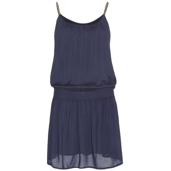 Heidi Klein - Bimini chiffon dress - We love Heidi Klein's cover-ups. This navy number, crafted from lightweight chiffon with spaghetti straps and an easy silhouette, is perfect for slipping on over swimwear to head into the city after frolicking at the beach. - @ www.mytheresa.com