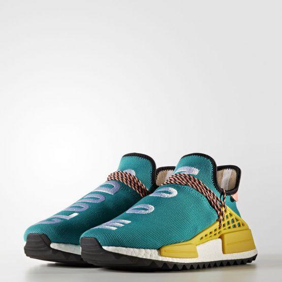 también ola Permeabilidad  PHARRELL WILLIAMS X NMD 'HUMAN RACE' – Adidas NMD R1 PHARRELL WILLIAMS X NMD  'HUMAN RACE' Turquoise/Sun Glow/Core Black/Eqt Yellow Men | Pharrell  williams, Pharrell, Adidas human race