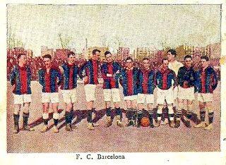 EQUIPOS DE FÚTBOL: BARCELONA en la década de 1910