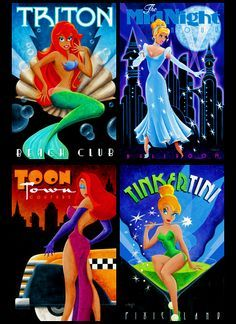Art Deco Disney