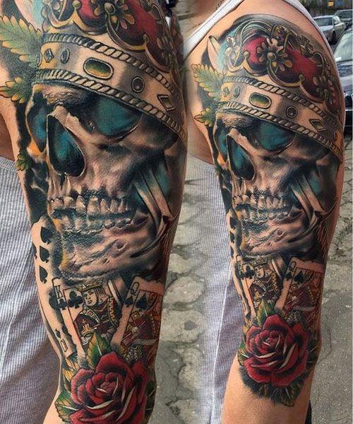 Badass Tattoos For Men 2018 Tattoos For Guys Badass Half Sleeve Tattoos For Guys Cool Arm Tattoos