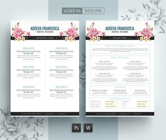 Vintage Resume Template Fransisca by AdeevaResume on - event producer sample resume