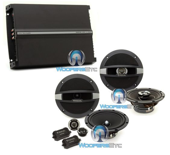 bull the world s catalog of ideas 3pkg focal auditor r 165s2 6 5 120w rms 2 way component speaker system