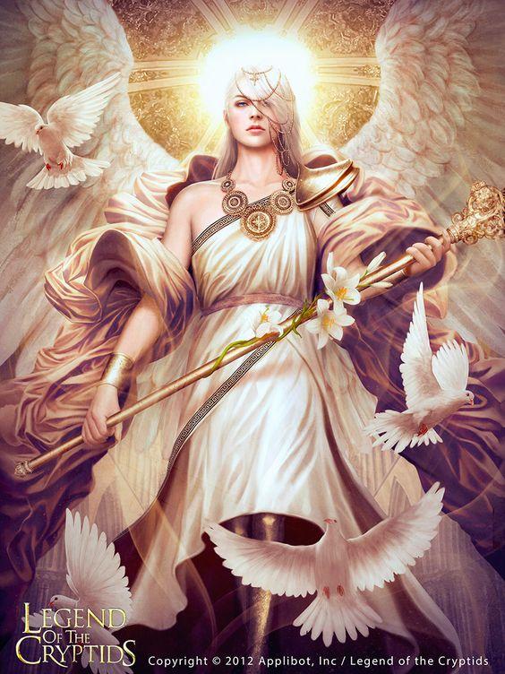 ArtStation - Archangel Gabriel [REG], Mario Wibisono: