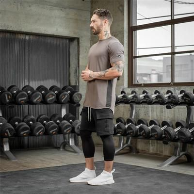 Bodybuilding Cotton T Shirt Men S Gyms Fitness In 2020 Gym Outfit Men Gym Men Gym Outfit