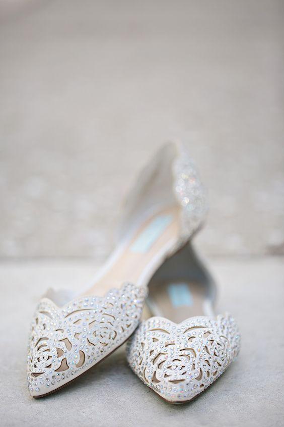 Jocelynn And Cristian S Lovely Lavender Wedding Wedding Shoes