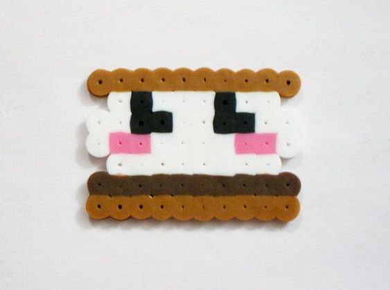 perler bead patterns kawaii food - Google Search