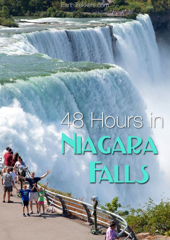 Niagara Falls: how to visit the US and Canadian sides in 48 hours. Where to stay, best things to do, how to plan your visit with kids.