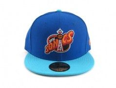 Seattle Supersonics New Era 5950 Fitted Hats (NIKE AIR KD 5 CHRISTMAS)