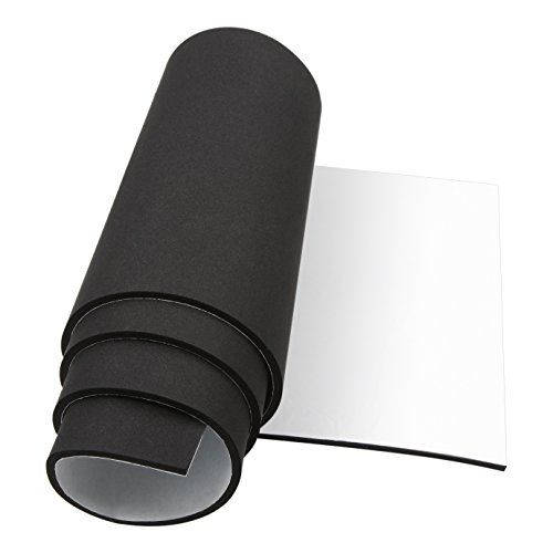 Foam Insulation Foam Padding Roll Self Adhesive Weather Stripping Non Slip Neoprene Rubber Sheet Mat 1 4 Inch Thick X 12 Inch Wide X 59 Inch Long Foam Insulation Neoprene Rubber Neoprene