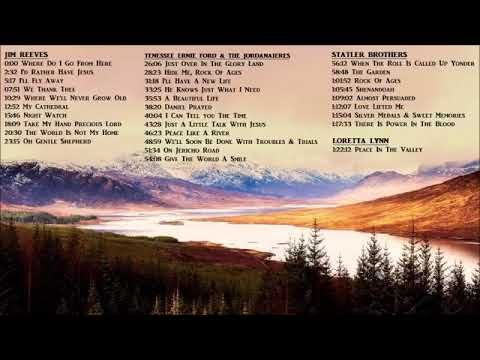 Classic Country Gospel Hymns Jim Reeves Statler Brothers Youtube With Images Country Gospel