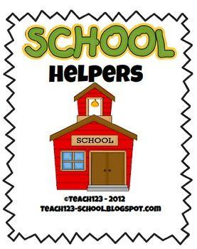 FREE:  School Helpers packet