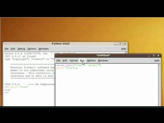 Tutorial 6 - Imparare Python - #ITA #Italiano #Linguaggio #Listato #Programma #Programmare #Programmazione #Python #Scrivere #Tutorial #Ubuntu #Video http://wp.me/p7r4xK-Km
