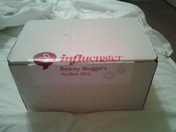 This is my box that arrived 19th October 2012!