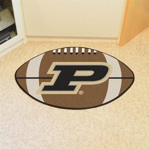 Purdue University Football Floor Rug Mat