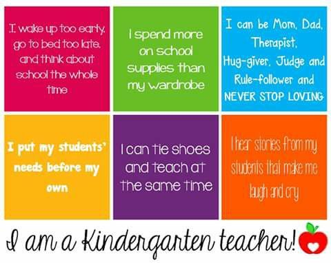 Kindergarten teacher Teacher quotes Pinterest