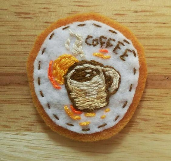 Coffee Patch by AUD9 on Etsy