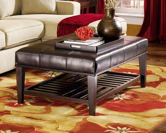 Dining Rooms, Tribeca Cocktail Ottoman, Dining Rooms | Havertys Furniture