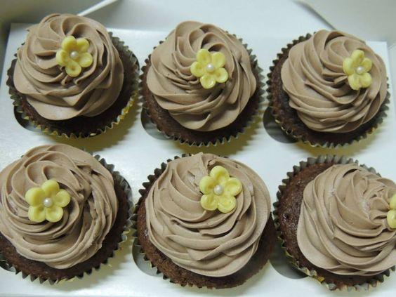 CUPCAKE DE CHOCOLATE SWEET