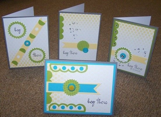 Even more ideas for the My paper Pumpkin Welcome card kit!