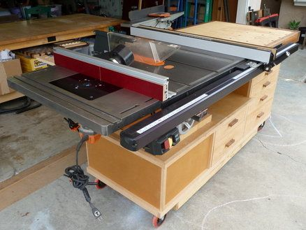 Why Have A Table Saw Surround Woodworking Talk