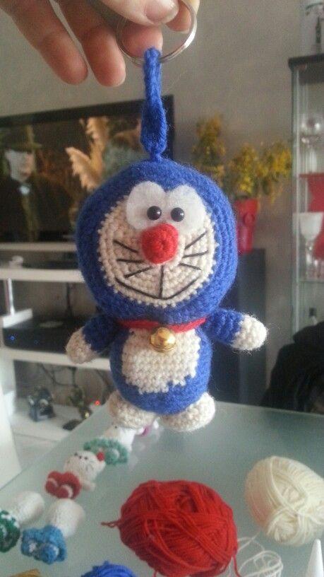 Doraemon versione portachiavi h.11cm