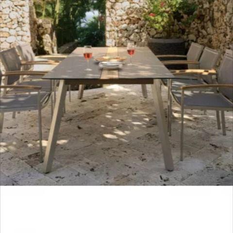 Zebra Gartenmobel Set Linax Setax Gartenmobel Teak Holz Und
