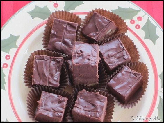 Slow Cooker Holiday Fudge